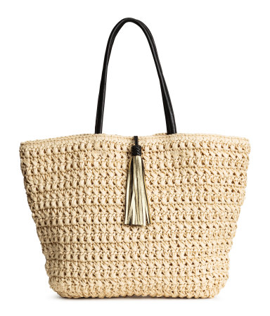 Summer Essentials - Straw Bag