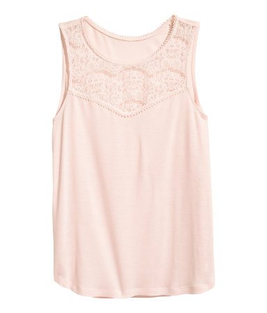 Summer Essentials - Sleeveless pink top