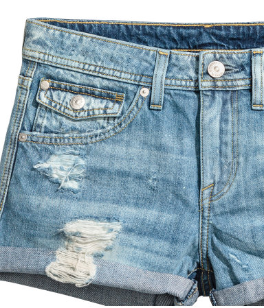 Summer essentials - denim shorts