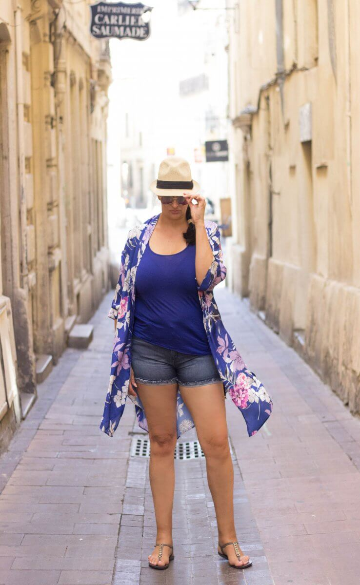 My Summer OOTD in Montpellier, France