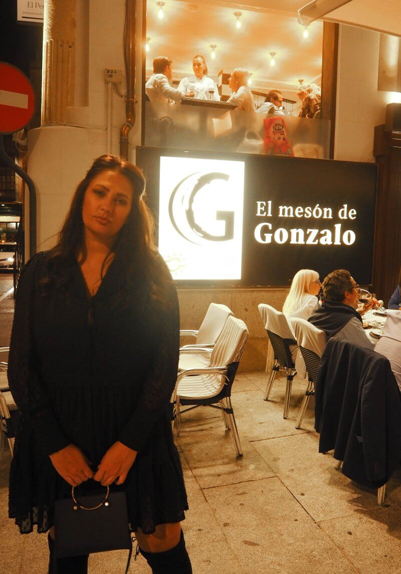Places to eat in Salamanca. El Mesón de Gonzalo should be a definite when visiting Salamanca. We loved the ambience, location and food!