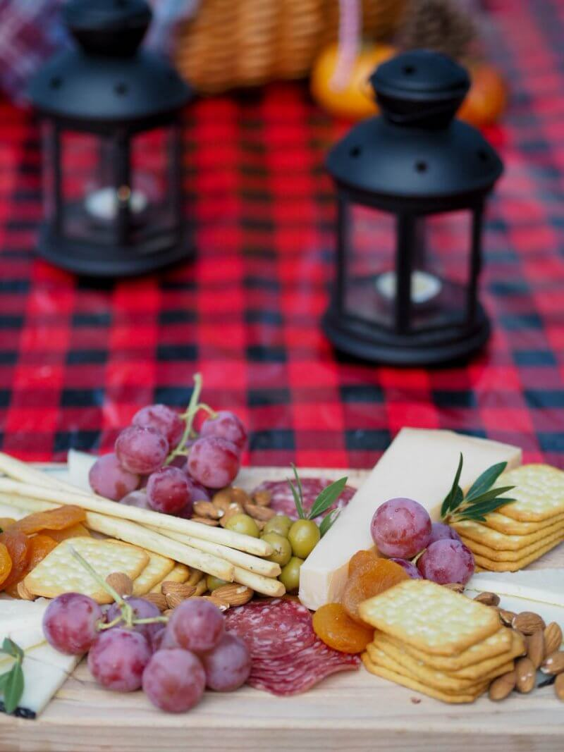 Autumn Picnic in the Mountains & What to put on a cheese platter