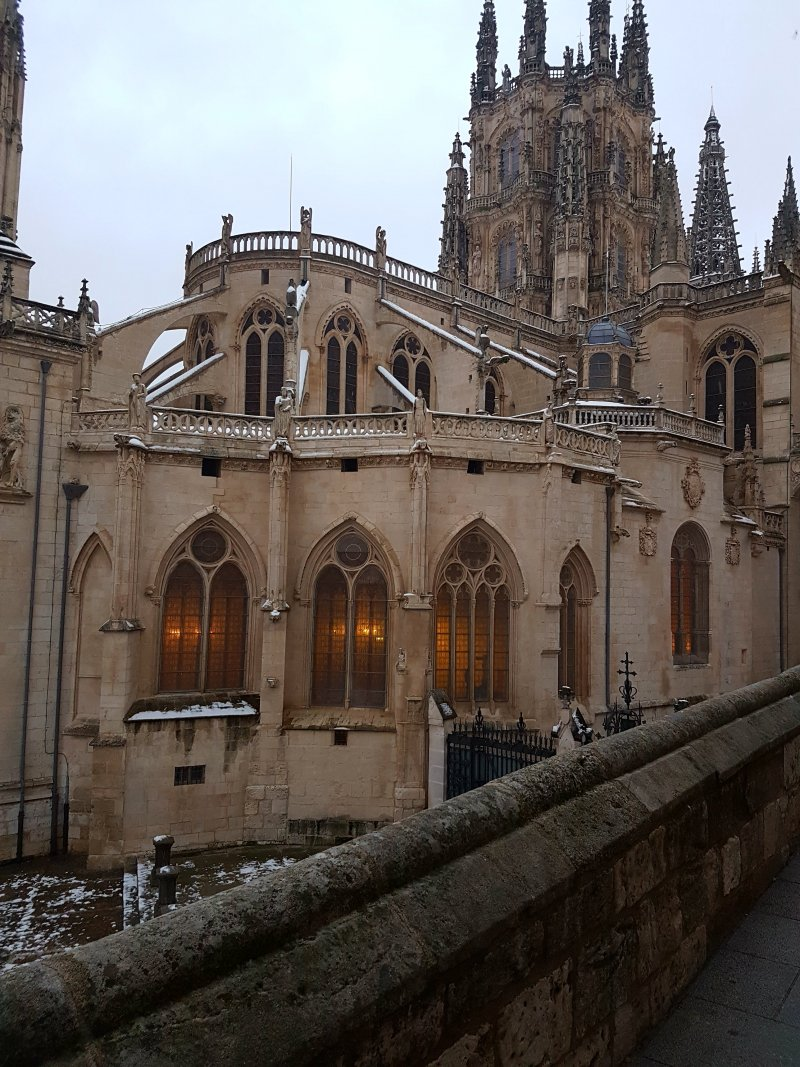 Burgos Spain - Burgos is a city in northern Spain and the historic capital of the province Castile situated on the Arlanzón river.