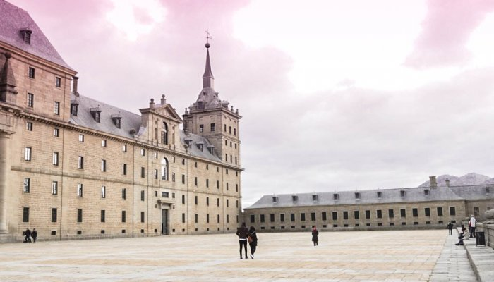 Royal Monastery San Lorenzo de El Escorial Madrid