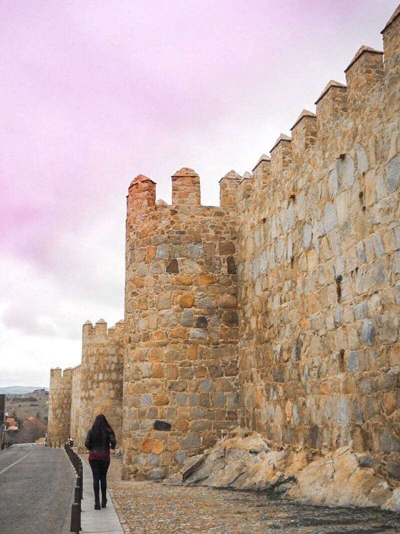 What to do in Avila Spain - Ávila is 108 km from Madrid centre and is most is known for its intact medieval city walls which are 2.5km in length...
