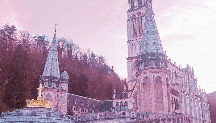 Visit Lourdes in south west France