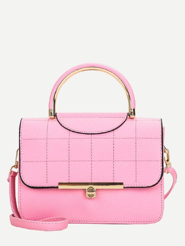SHOP MY STYLE - Shein Seam Detail Pebble Grab Bag