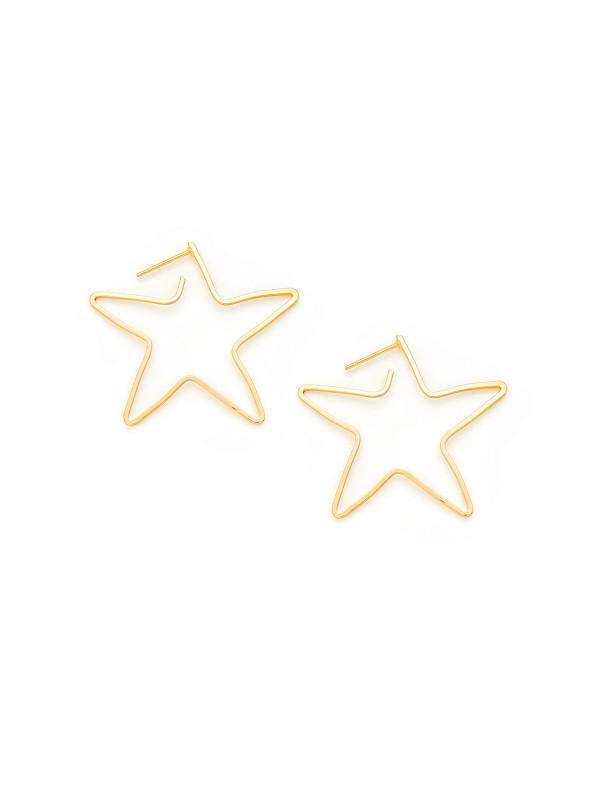 SHOP MY STYLE - Shein Gold Star Earrings