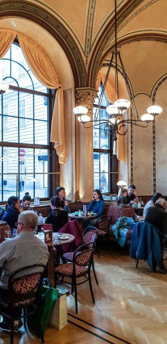 MY TOP 5 THINGS TO DO IN VIENNA AUSTRIA. Visiting Café Central Wien was a highlight of our trip!