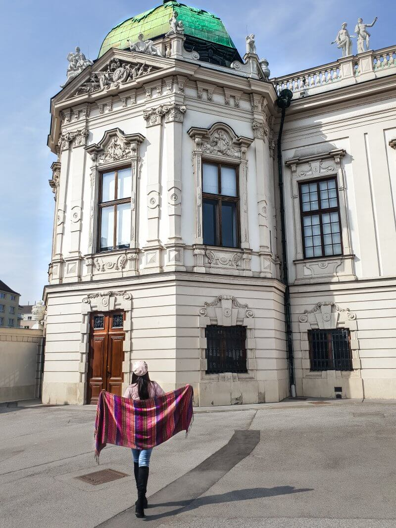 My Top 5 things to do in Vienna Austria. Eat Wiener Schnitzel at Cafe-Bistro Menagerie at the Belvedere Museum (Palace).