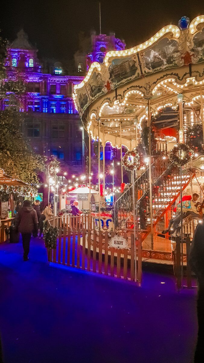 Here are a list of things to do in Edinburgh during Christmas time